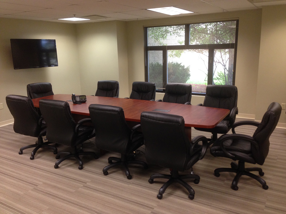 12' Boat Shaped Conference Table Office Furniture