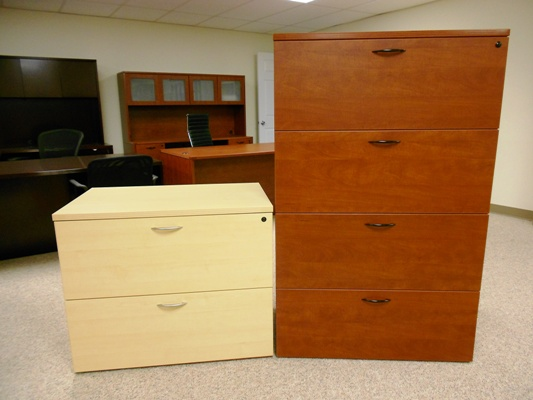 2 & 4 Drawer Lateral Files