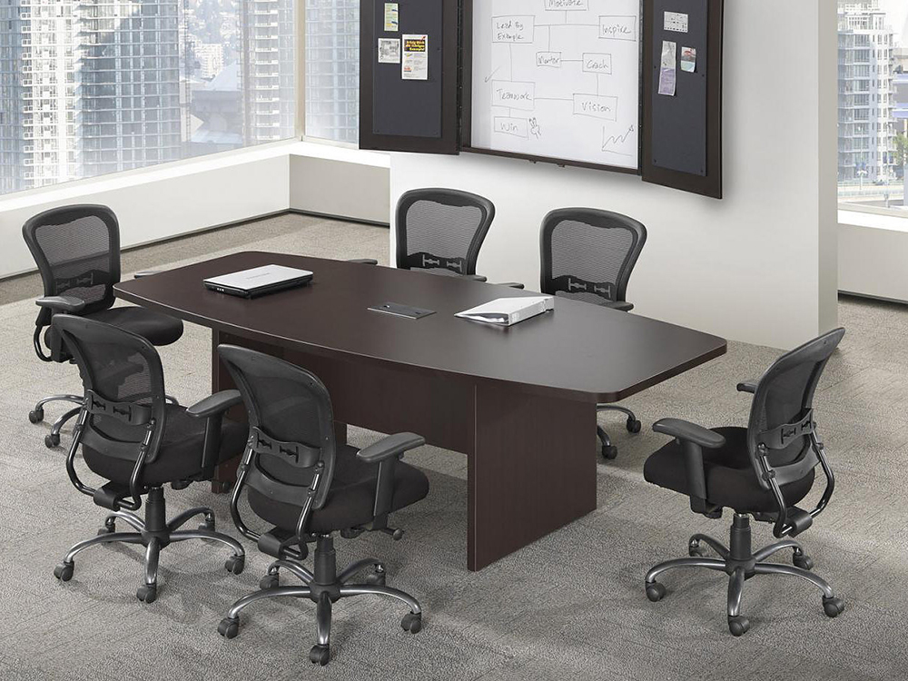 6' Boat Shaped Conference Table Office Furniture