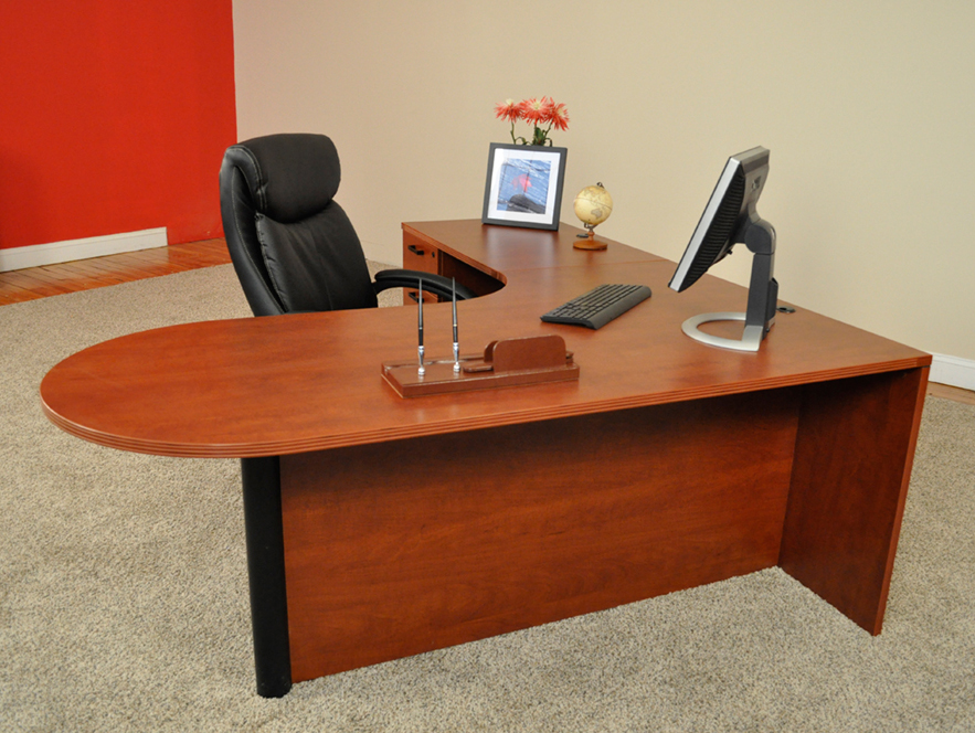 Affordable Office Bullet L Shaped Desk 1 Granite State