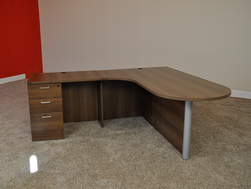 Concord, NH Bullet L-shaped Desk #3 Bullet Front L-Shaped Office Desks