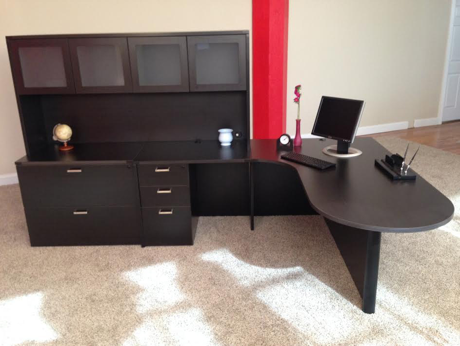 Bullet L Shaped Office Desk NH MA