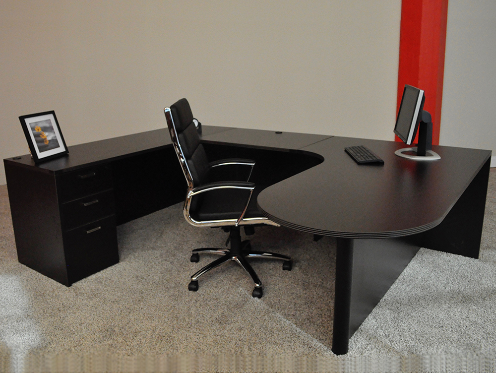 Concord, NH Bullet U-shaped Desk #3 Bullet Front U-Shaped Office Desks