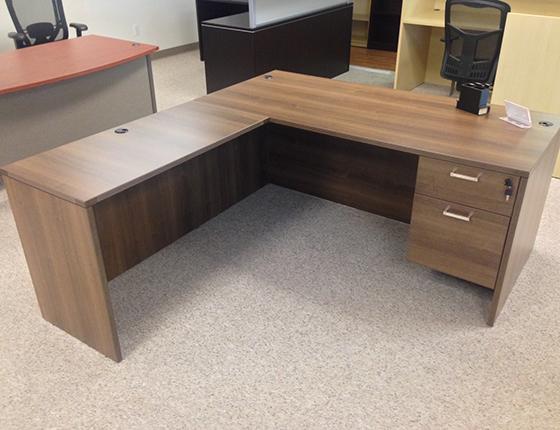 Rectangular Front L Shaped Desks ...