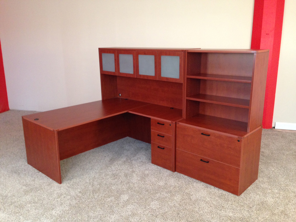 Rectangle L Shaped Office Desk NH MA