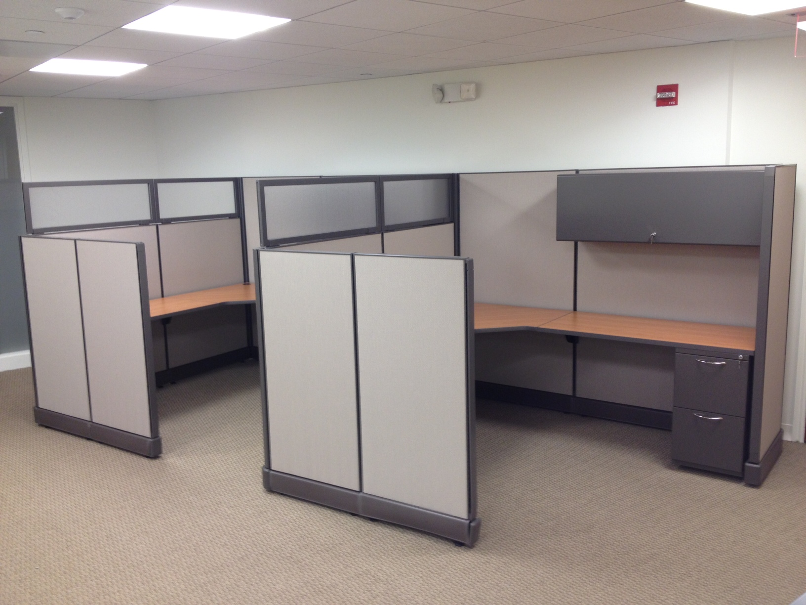Used Office Cubicles Boston Machusetts