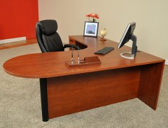 Bullet Front L-Shaped Desks