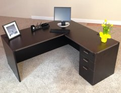 Rectangular Front L-Shaped Desks