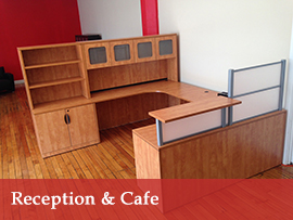 Reception & Cafe Granite State Office Furniture Manchester, NH