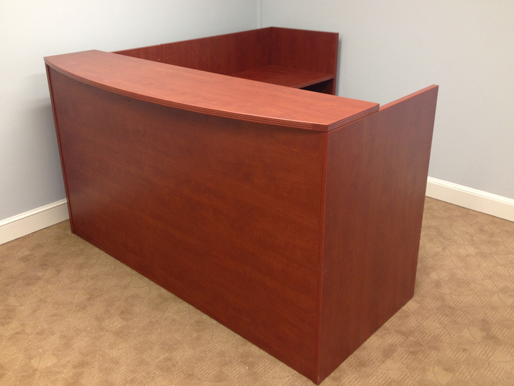 Reception Desk #3 Office Furniture Nashua, NH