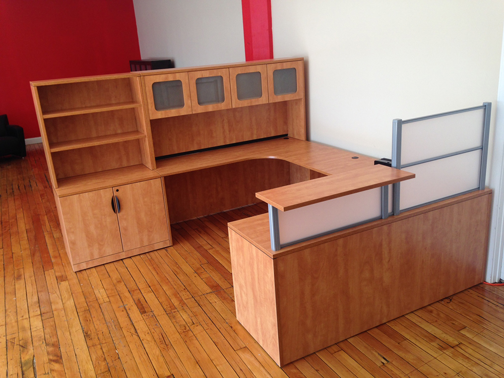Reception Desk #5 Office Furniture Manchester, NH
