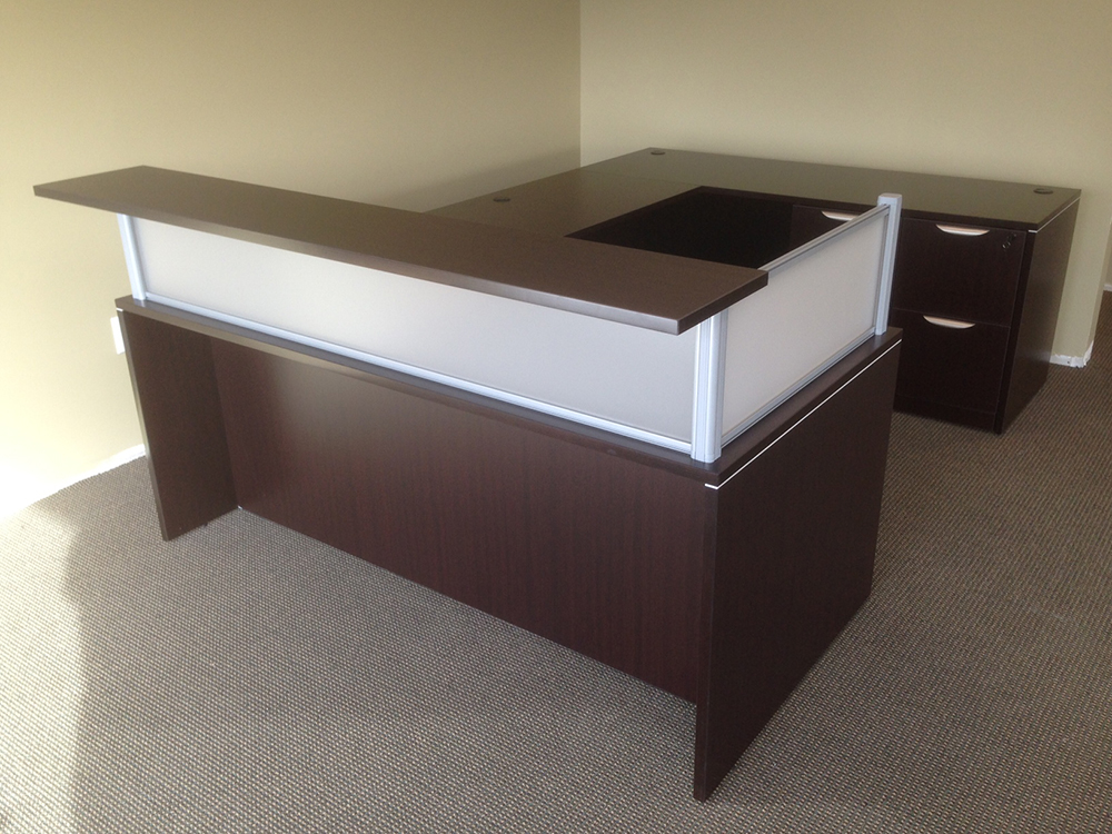 Reception Desk #7 Office Furniture Nashua, NH